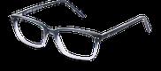 Lunettes de vue Happyview CHARLIE gris - vue de 3/4 miniature