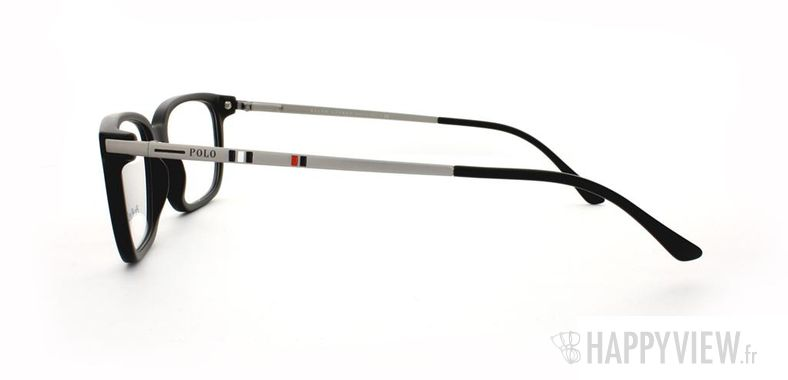 Lunettes de vue Polo Ralph Lauren Polo Ralph Lauren 2087 noir/argenté - vue de côté