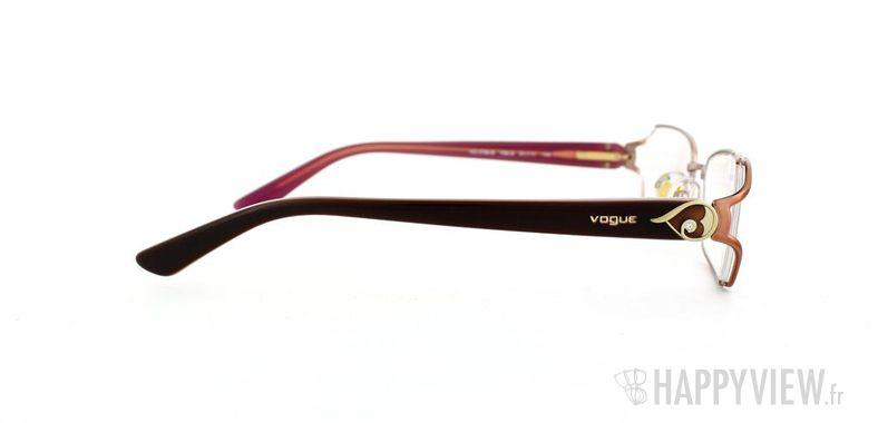 Lunettes de vue Vogue Vogue 3798B rose/marron - vue de côté
