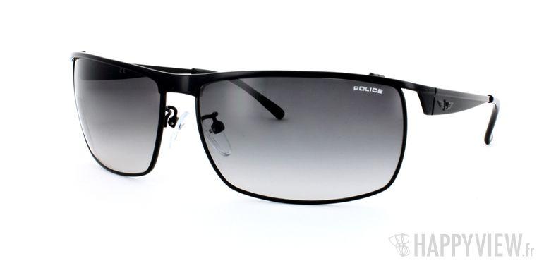 Lunettes de soleil Police Police S8650 noir - vue de 3/4