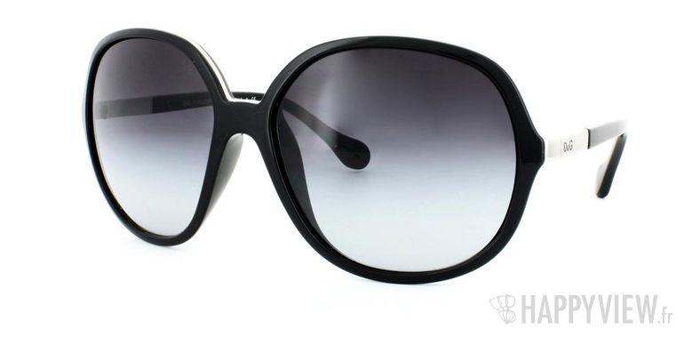 Lunettes de soleil Dolce & Gabbana Dolce&Gabbana 8089 noir - vue de 3/4