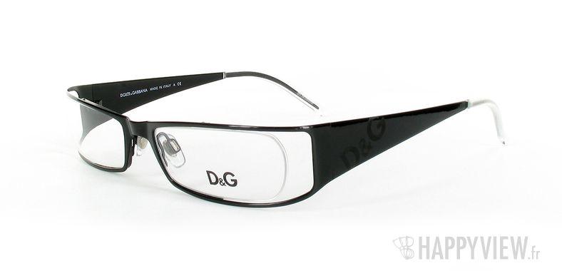 Lunettes de vue Dolce & Gabbana D&G 5003 noir - vue de 3/4