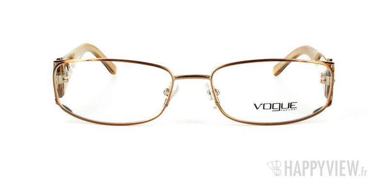 Lunettes de vue Vogue Vogue 3661B marron - vue de face