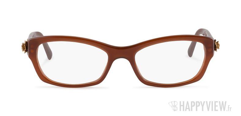 Lunettes de vue Dolce & Gabbana DG 3150 marron - vue de face