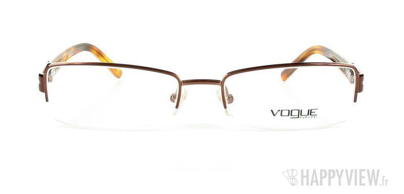 Lunettes de vue Vogue Vogue 3694B marron - vue de face