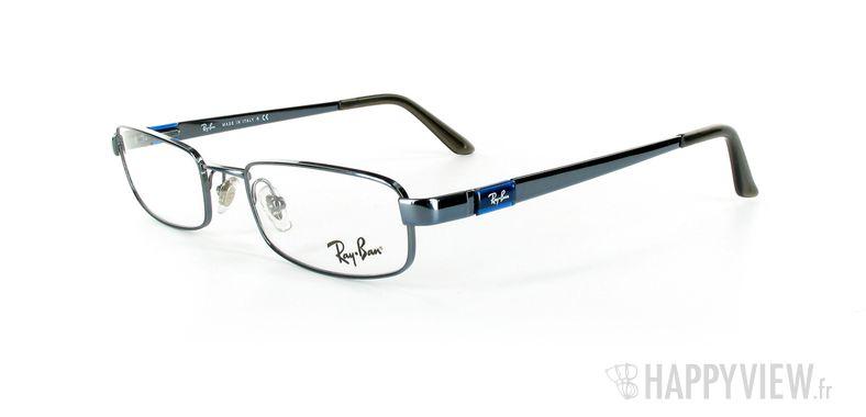 Lunettes de vue Ray-Ban Ray-Ban RX6076 bleu - vue de 3/4