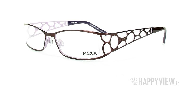Lunettes de vue Mexx Mexx 5028 bleu - vue de 3/4