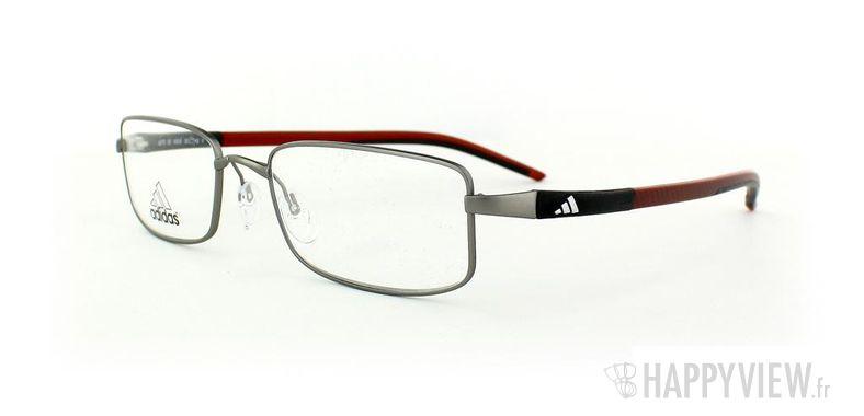 Lunettes de vue Adidas Adidas A676 gris/rouge - vue de 3/4
