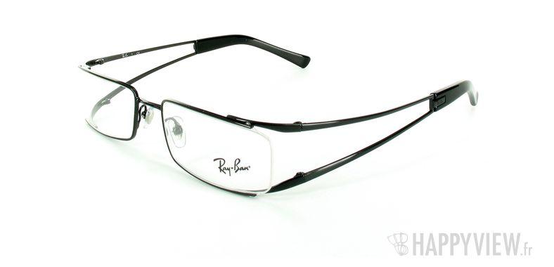 Lunettes de vue Ray-Ban Ray-Ban RX6108 noir - vue de 3/4