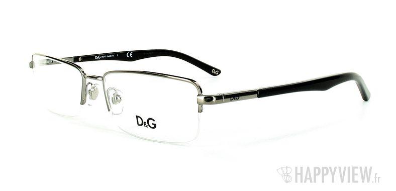 Lunettes de vue Dolce & Gabbana D&G 5063 argenté - vue de 3/4