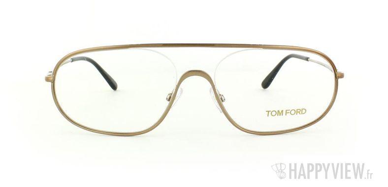 Lunettes de vue Tom Ford Tom Ford 5155 doré - vue de face