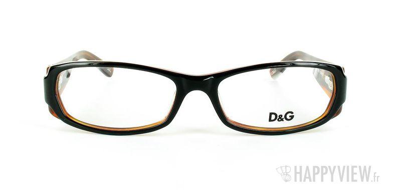 Lunettes de vue Dolce & Gabbana D&G 1172 orange/noir - vue de face