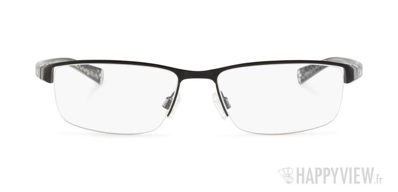 Lunettes de vue Nike 8096 noir - vue de face