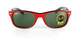 Lunettes de soleil Ray-Ban Ray-Ban New Wayfarer rouge/noir