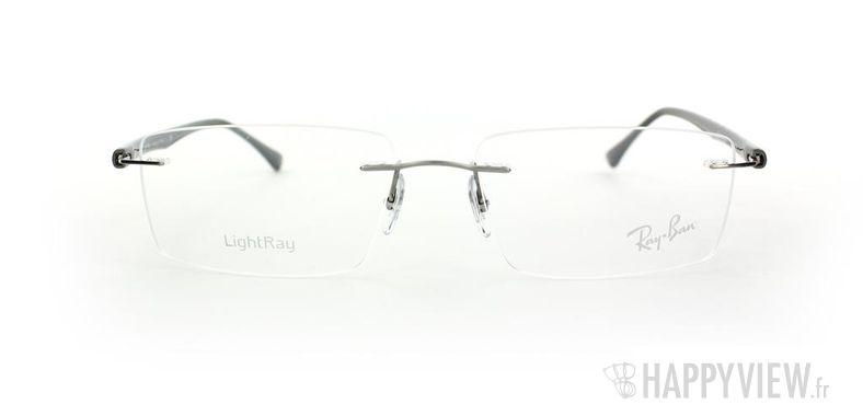 Lunettes de vue Ray-Ban Ray-Ban RX8694 Titane argenté - vue de face