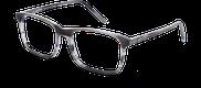 Lunettes de vue Happyview LOUIS gris - vue de 3/4 miniature