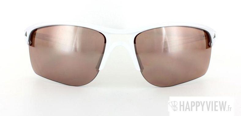 Lunettes de soleil Adidas Adidas 404 blanc - vue de face