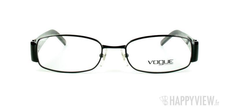 Lunettes de vue Vogue Vogue 3737 noir - vue de face