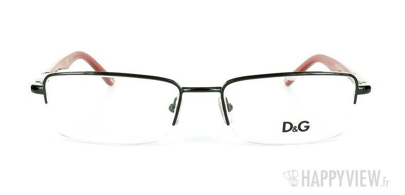 Lunettes de vue Dolce & Gabbana D&G 5063 noir - vue de face