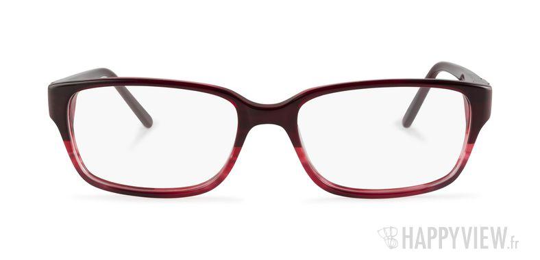 Lunettes de vue Elle EL 13370 rouge - vue de face