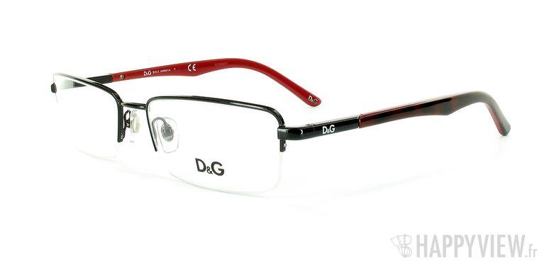 Lunettes de vue Dolce & Gabbana D&G 5063 noir - vue de 3/4