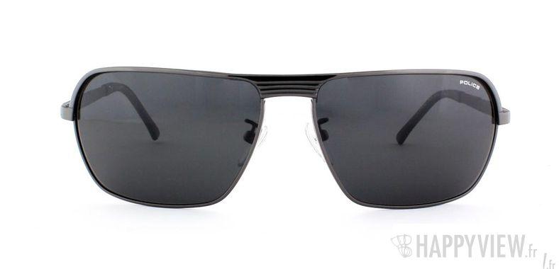 Lunettes de soleil Police Police S8745 gris - vue de face
