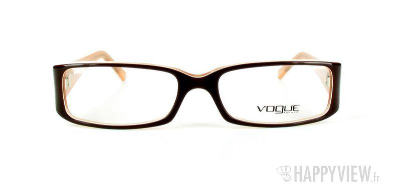 Lunettes de vue Vogue Vogue 2484 marron - vue de face