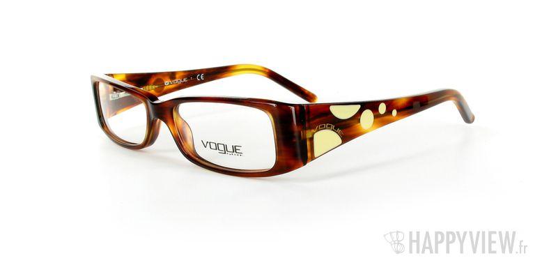 Lunettes de vue Vogue Vogue 2583 marron - vue de 3/4