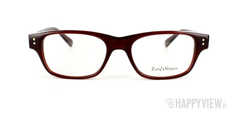 Lunettes de vue Zadig&Voltaire Zadig&Voltaire 2000 rouge - vue de face
