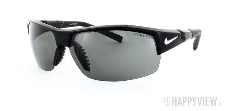 Lunettes de soleil Nike Nike Show-X2 noir - vue de 3/4