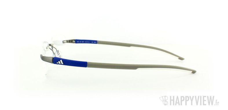 Lunettes de vue Adidas Adidas A642 gris/bleu - vue de côté