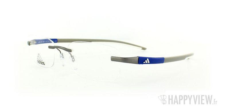 Lunettes de vue Adidas Adidas A642 gris/bleu - vue de 3/4