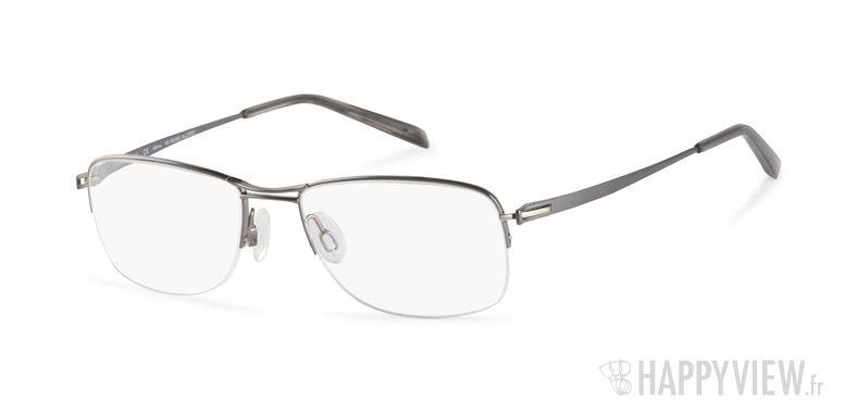 Lunettes de vue Charmant 10762 Titane gris/argenté - vue de 3/4