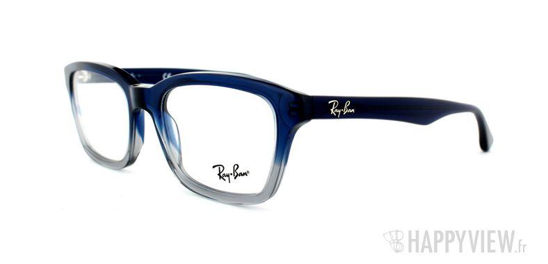 Lunettes de vue Ray-Ban Ray-Ban RX5267 bleu/gris - vue de 3/4