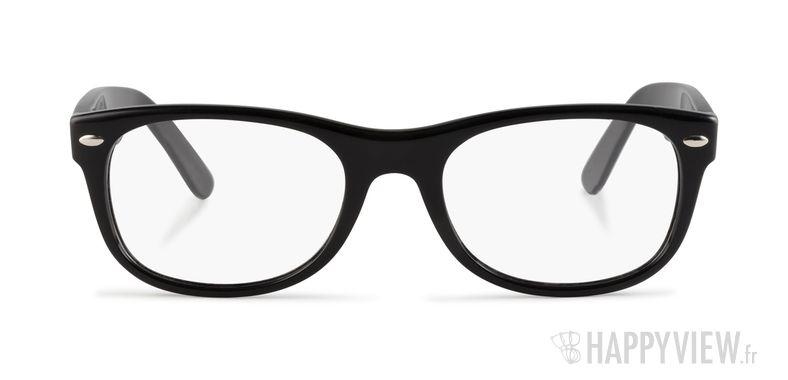 Lunettes de vue Ray-Ban RX 5184 New Wayfarer Small noir - vue de face