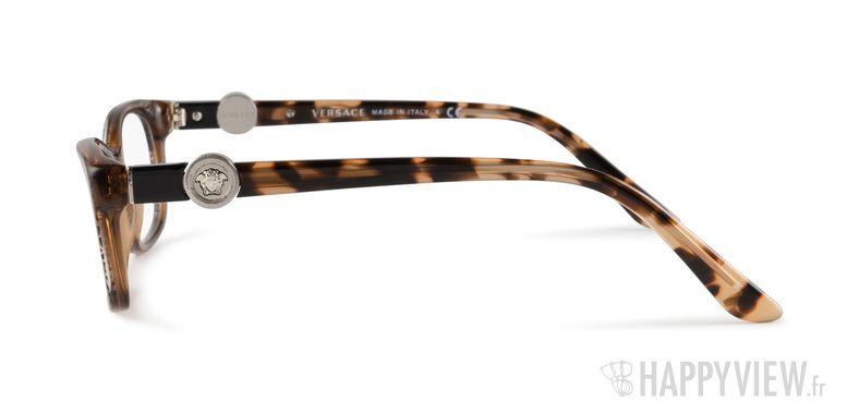 Lunettes de vue Versace VE 3164 marron - vue de côté