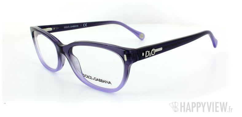 Lunettes de vue Dolce & Gabbana D&G 1205 bleu - vue de 3/4
