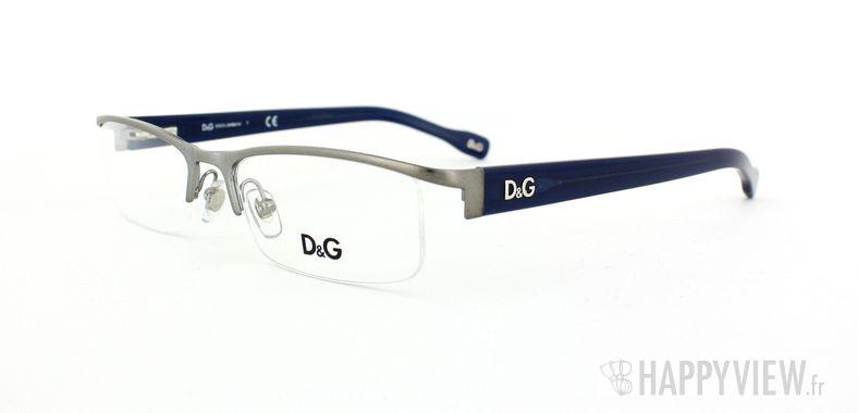 Lunettes de vue Dolce & Gabbana D&G 5095 gris - vue de 3/4