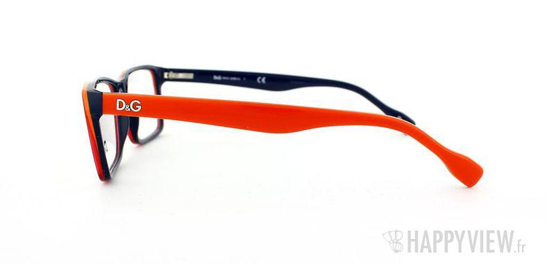 Lunettes de vue Dolce & Gabbana D&G 1233 rouge/bleu - vue de côté