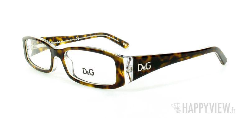 Lunettes de vue Dolce & Gabbana D&G 1179 écaille/blanc - vue de 3/4