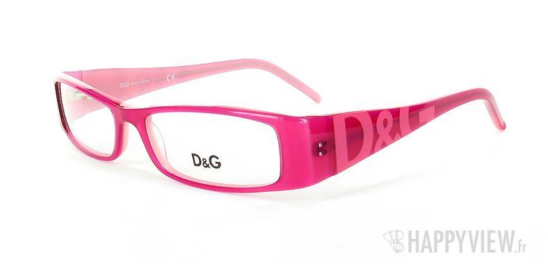 Lunettes de vue Dolce & Gabbana D&G 1114 rose - vue de 3/4