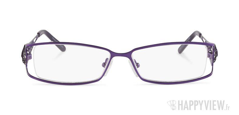 Lunettes de vue Happyview Da Vinci violet - vue de face