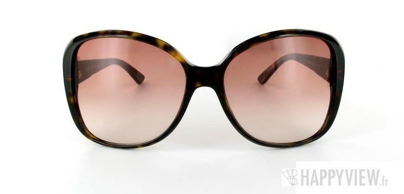 Lunettes de soleil Gucci Gucci 3126 écaille - vue de face
