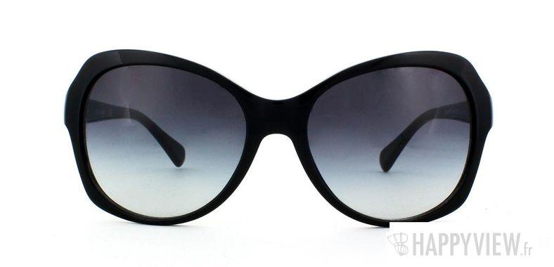 Lunettes de soleil Dolce & Gabbana Dolce & Gabbana 4163P noir - vue de face