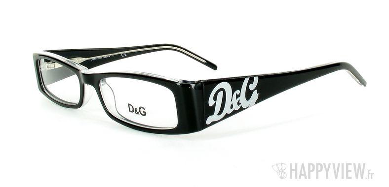 Lunettes de vue Dolce & Gabbana D&G 1127 noir - vue de 3/4