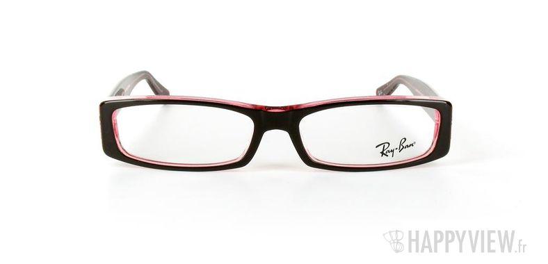 Lunettes de vue Ray-Ban Ray-Ban RX5094 marron/rose - vue de face
