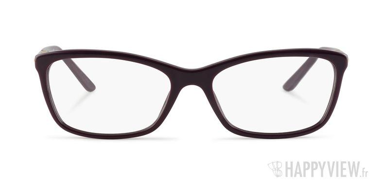 Lunettes de vue Versace VE 3186 violet - vue de face