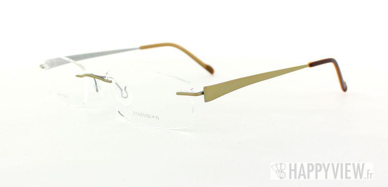 Lunettes de vue Starvision by Seiko Starvision 1010 Titane doré - vue de 3/4