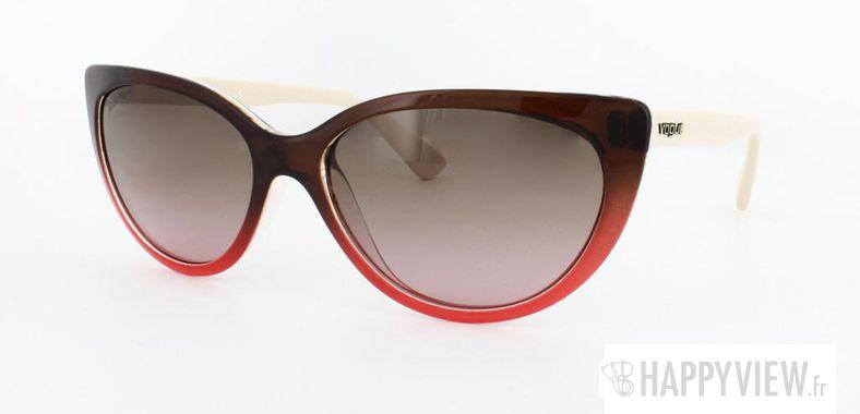 Lunettes de soleil Vogue Vogue 2677S marron/rose - vue de 3/4