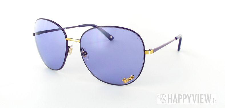 Lunettes de soleil Gucci Gucci 2899 bleu - vue de 3/4